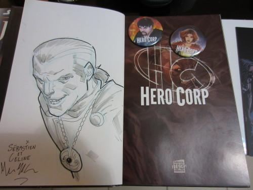 BD Hero Corp dédicacée Angoulême