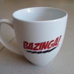 Bazinga - the big bang theory my warner day