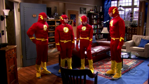 The big bang theory Flash