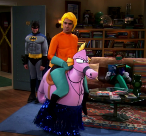 Raj aquaman the big bang theory