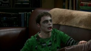 Sheldon zombie the big bang theory