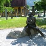 sherlock holmes statue meiringen